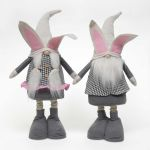 Gnome Bunny W/Telescoping Legs (Sold Individually)