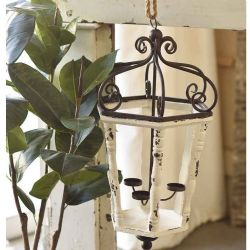 Traditional lantern and candle holder