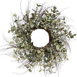Twig and Eucalyptus Wreath