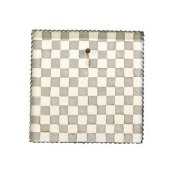 Disply Putty And White Checked Mini Gallery Display Board