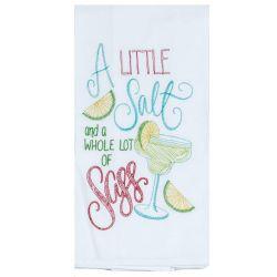 a little salt tea towel