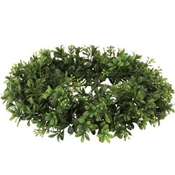 Candle Ring Boxwood 6.5