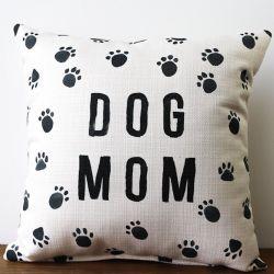 Pillow-Dog Mom