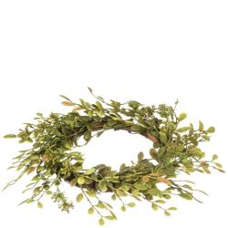 Candle Ring English Boxwood 4.5