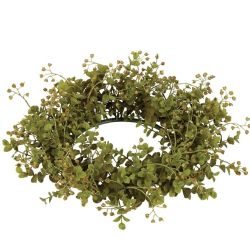Candle Ring Eucalyptus 6.5