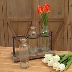 glass bottle holder