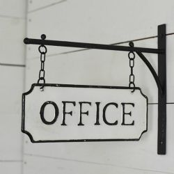 Sign Hanging Office