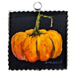 Mini Orange Pumpkin Print