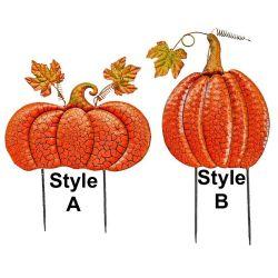 Fall Metal Pumpkins