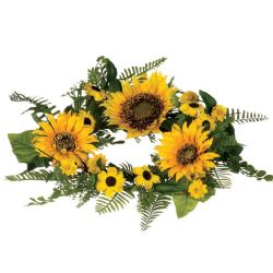 Candle Ring Sunflower 4