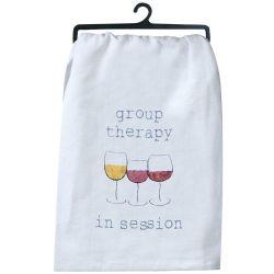 wine tea towel